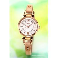 【フォッシル腕時計】 サイズ:レディース ケースサイズ:直径26mm×厚さ8mm バンド素材(カラー...