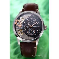 【フォッシル腕時計】 サイズ:メンズ ケースサイズ:直径44.0mm×厚さ14.0mm バンド素材(...