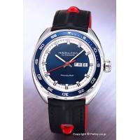 【ハミルトン腕時計】 サイズ:メンズ ケースサイズ:直径42mm×厚さ11.0mm バンド素材(カラ...