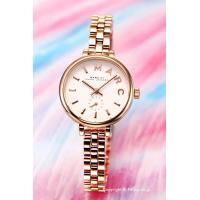 【マークジェイコブス 腕時計】 サイズ:レディース ケースサイズ:直径28mm×厚さ8mm バンド素...