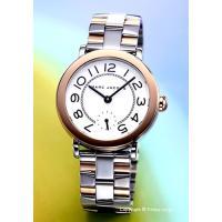 【マークジェイコブス 腕時計】 サイズ:レディース ケースサイズ:直径36mm×厚さ9.5mm バン...