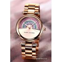 【マークジェイコブス 腕時計】 サイズ:レディース ケースサイズ:直径34mm×厚さ9mm バンド素...
