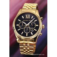 【マイケルコース 腕時計】 サイズ:メンズ ケースサイズ:直径45mm×厚さ11mm バンド素材(カ...