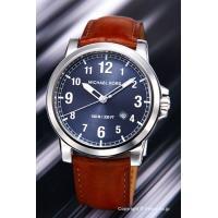 【マイケルコース腕時計】 サイズ:メンズ ケースサイズ:直径43mm×厚さ7mm バンド素材(カラー...