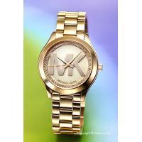 【マイケルコース腕時計】 サイズ:レディース ケースサイズ:直径33mm×厚さ6.5mm バンド素材...