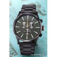 【ニクソン腕時計】 サイズ:メンズ ケースサイズ:直径42mm×厚さ12mm バンド素材(カラー):...