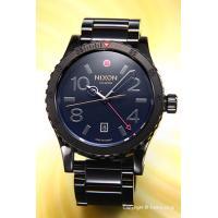 【ニクソン腕時計】 サイズ:メンズ ケースサイズ:直径45mm×厚さ13mm バンド素材(カラー):...