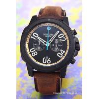 【ニクソン 腕時計】 サイズ:メンズ ケースサイズ:直径44mm×厚さ11mm バンド素材(カラー)...