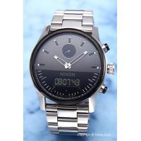 【ニクソン腕時計】 サイズ:メンズ ケースサイズ:直径46mm×厚さ14mm バンド素材(カラー):...