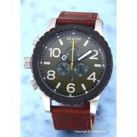 【ニクソン腕時計】 サイズ:メンズ ケースサイズ:直径51mm×厚さ15mm バンド素材(カラー):...