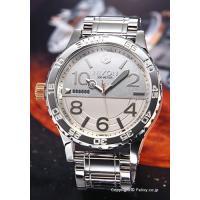【ニクソン 腕時計】 サイズ:メンズ ケースサイズ:直径51mm×厚さ15mm バンド素材(カラー)...