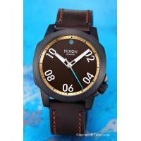 【ニクソン 腕時計】 サイズ:メンズ ケースサイズ:直径40mm×厚さ11mm バンド素材(カラー)...