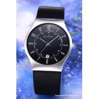 【スカーゲン 腕時計】 サイズ:メンズ ケースサイズ:直径37mm×厚さ6mm バンド素材(カラー)...