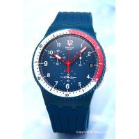 【スウォッチ腕時計】 サイズ:ユニセックス ケースサイズ:直径42mm×厚さ13mm バンド素材(カ...