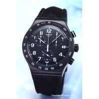 【スウォッチ腕時計】 サイズ:メンズ ケースサイズ:直径42mm×厚さ11mm バンド素材(カラー)...