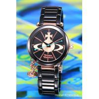 【ヴィヴィアンウエストウッド 腕時計】 サイズ:レディス ケースサイズ:直径31mm×厚さ7mm バ...