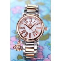 【ヴィヴィアンウエストウッド腕時計】 サイズ:レディース ケースサイズ:直径32mm×厚さ7mm バ...