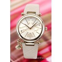 【ヴィヴィアンウエストウッド腕時計】 サイズ:レディス ケースサイズ:直径32mm×厚さ7mm バン...