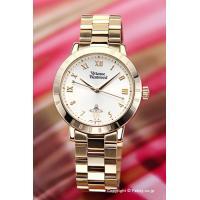【ヴィヴィアンウエストウッド腕時計】 サイズ:レディス ケースサイズ:直径34mm×厚さ8mm バン...
