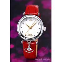 【ヴィヴィアンウエストウッド腕時計】 サイズ:レディース ケースサイズ:直径32mm×厚さ8mm バ...
