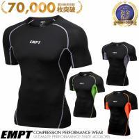 コンプレッションウェア コンプレッションインナー スポーツウェア スポーツシャツ トレーニングウェア...