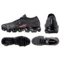 "Nike Air VaporMax ""Copper Swoosh"" Running Shoesメンズ Black/Summit White/Red Bronze ナイキ ランニングシューズ エアヴェイパーマックス フライニット"