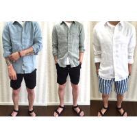 3色からお好きなカラーをお選びください☆  シンプルな無地のシャツなので何にでも似合います★★★  ...