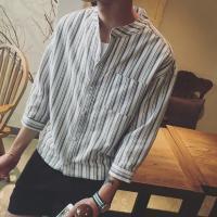 七分丈の袖だから、自然とスタイルアップできる★  落ち着き感のあるカラーで大人の男性にピッタリ♪  ...