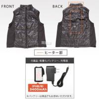 プロモート ヒートベストIII 男女兼用 PHB III ブラック [サイズ:M〜3L]|truetools|06