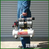静音コンプレッサー 小型エアーコンプレッサー オイルレス 100V 静音 8L TRTO-SC8L TrueTools truetools 03