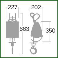 リョービ ウインチ ワイヤー径4×31m付 WI-125|truetools|02