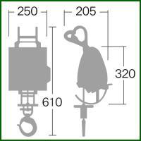 リョービ リモコンウインチ リモコン ワイヤー径4×21m付 WI-62RC|truetools|02