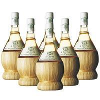 イタリア土産 イタリアお土産 みやげ おみやげ クアトロ レオーニ 白ワイン 6本  国内外の有名人...