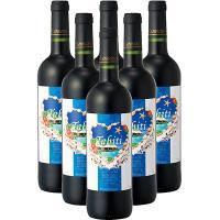 タヒチ土産 タヒチお土産 みやげ おみやげ タヒチ 赤ワイン 6本  美しい楽園をハートで包んで。ぶ...