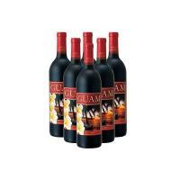 グアム土産 グアムお土産 みやげ おみやげ グアム 赤ワイン 6本  チェリーの香り、柔らかいタンニ...