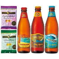 ハワイ土産 ハワイお土産 みやげ おみやげ コナビール ほろよいナッツセット  人気の地ビールとおつ...