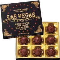 アメリカ土産 アメリカお土産 みやげ おみやげ ラスベガス ミニマカデミアナッツチョコレート 1箱 ...