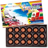 メキシコ土産 メキシコお土産 みやげ おみやげ メキシコ カンクン ミルクチョコレート 6箱セット ...