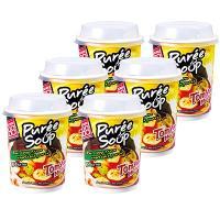 タイ土産 タイお土産 みやげ おみやげ タイ トムヤムカップスープ 6個セット  お手軽派にはこちら...
