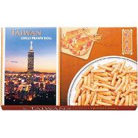 台湾土産 台湾お土産 みやげ おみやげ 台湾 チリプラウンロール 1箱  海老風味のひとくちサイズの...