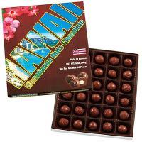 ハワイお土産 ハワイ土産 ハワイおみやげ/ハワイ ビッグサイズマカデミアナッツチョコレート 1箱/海...