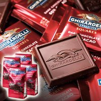 アメリカお土産 アメリカ土産 アメリカおみやげ/ギラデリ 60%カカオチョコレート 4個セット/海外...