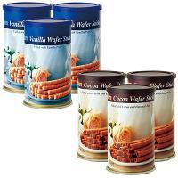 ギリシャ土産 ギリシャお土産 みやげ おみやげ ギリシャ ウエハースティック 2種6缶セット  甘い...