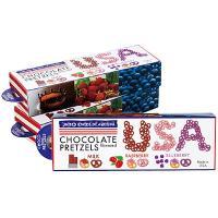 アメリカ土産 アメリカお土産 みやげ おみやげ アメリカ チョコレートプレッツェル 3箱セット  香...