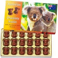 オーストラリア土産 オーストラリアお土産 みやげ おみやげ コアラ マカデミアチップチョコレート 1...