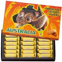 オーストラリアお土産 オーストラリア土産 オーストラリアおみやげ/オーストラリア チョコウエハース ...