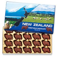 ニュージーランド土産 ニュージーランドお土産 みやげ おみやげ シープ ミルクチョコレート 1箱メエ...