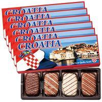 クロアチア お土産 土産 みやげ おみやげ / クロアチア チョコクッキー 6箱セット  シナモン風...