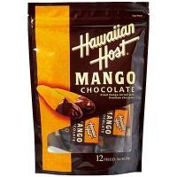 ハワイ土産 ハワイお土産 みやげ おみやげ ハワイアンホスト ドライマンゴーチョコレート  チョコを...