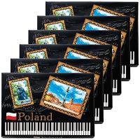 ポーランド土産 ポーランドお土産 みやげ おみやげ ポーランド チョコロール 6箱セット  ウエハー...